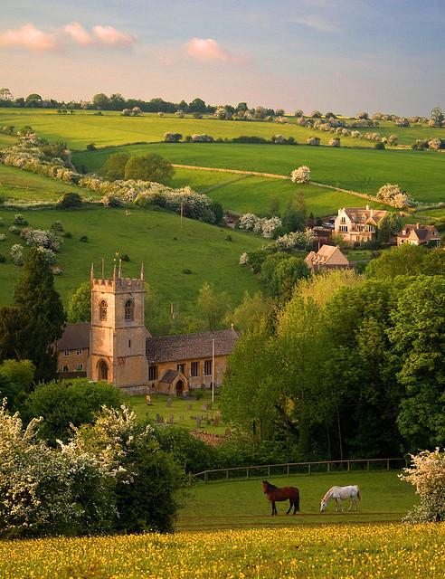 Pastoral Beauty, Naunton, England